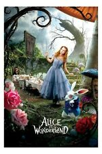 Alice in Wonderland mini movie poster 11 x 17""