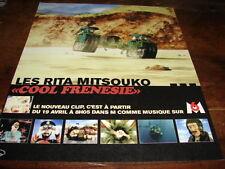 LES RITA MITSOUKO - PUBLICITE COOL FRENESIE !!!!!!!!!!!