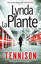LYNDA LA PLANTE __ TENNISON __ BRANDNEUE ___ WERBEANTWORT UK