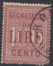 ITALY : 1884 POSTAGE DUE 1000L  SG D41 used