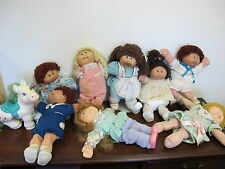 CABBAGE PATCH DOLLS VINTAGE  (8) HORSE PACIFIER GIRLS BOYS   DUTCH OUTFIT