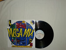 "Snap! ‎– Snap! Mega Mix  - Disco 12"" MAXI 45 Giri Vinile UK 1991 House DownBeat"