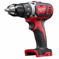 "New Milwaukee 2606-20 18 Volt 18v Red Lithium-Ion 1/2"" Drill Driver Cordless"