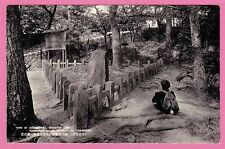 View of Ooginoshiba. Ruins of Yorimasa's  Killed oneself, Yamashiro, Japan