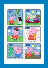 18 Peppa Pig Stickers Party Favors