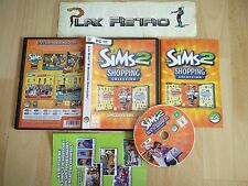 PC LOS SIMS 2 SHOPPING COLLECCIÓN COMPLETO PAL ESPAÑA