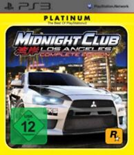 Playstation 3 MIDNIGHT CLUB 4 LOS ANGELES COMPLETE Sehr guter Zustand