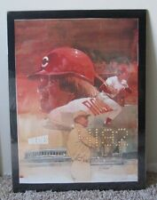 VINTAGE PETE ROSE POSTER # 4,192 CINCINNATI REDS MAN CAVE SHRINK WRAPPED RARE