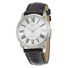 Mido Baroncelli III Automatic Silver Dial Ladies Watch M0102081603320