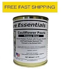 New Case of Future Essentials Freeze Dried Cauliflower - 12 Cans