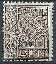 1912-15 LIBIA AQUILA 1 CENT MNH ** - ED377-2