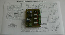 4 Channel Lights Show LED Controller Chaser HK9984