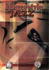 MEL BAY FINGERSTYLE JAZZ Learn to Play Guitar TAB Music Book