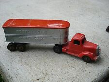 1950s Tootsietoy LF Mack Truck Coast to Coast Toy Tractor Trailer
