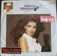 "Oliver Maass, Lady Lily, VG/EX 7"" Single 0671"