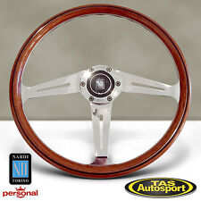 Nardi Steering Wheel ND CLASSIC WOOD Glossy Side Spokes 367mm 5049.36.3000