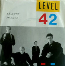 """7"""" 1986 PARTY KULT ! LEVEL 42 : Lessons In Love /MINT-"""
