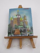 Russian Souvenir Easel St. Basil's Cathedral Moscow