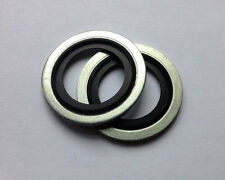 Bonded Seal Oil Sump Washer (x2) - 233 - Vauxhall, Fiat + More!
