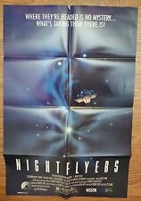 NIGHTFLYERS (1985)  POSTER