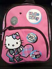 Hello Kitty Girls Kids Preschool Mini Backpack Bag - Pink & Black