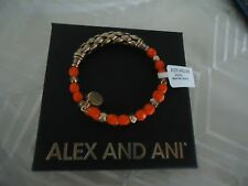 Alex and Ani SEA STAR Calypso Wrap Rafaelian Gold Bangle New  W/Tag Card & Box