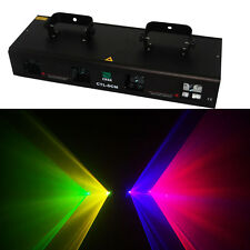 4 Lens 360mW RGYV DMX Laser disco dj Light Stage Party Lighting show equipment