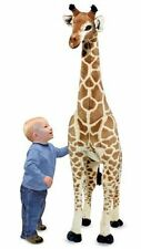 Melissa & Doug Giraffe Plush Stuffed Animal 2106 Huge Big Tall Kids Toy New 5 Ft