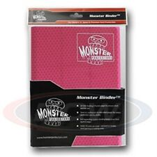 Monster Album Binder 9 Pocket Holofoil Pink With 20 Sideloading Pages