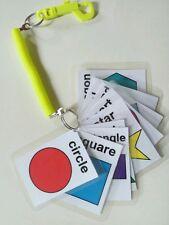 Children's Shapes Flash Cards