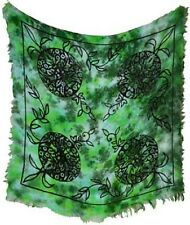 Greenman Altar Cloth 18 x 18 Wiccan Pagan Altar Supply #95