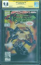 Web Spider Man 96 CGC SS 9.8 Mark Texeira Top 1 art sketch Venom vs Ghost Rider