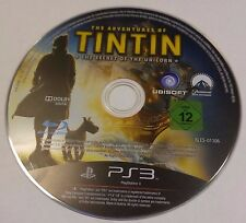 The Adventures of Tintin: The Game (Sony PlayStation 3, 2011)(DISC ONLY) #7148