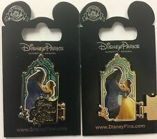 Disney Parks 2017 Beast Belle Beauty Found Within Live Action Movie hinged Pin
