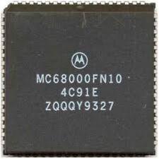 MOTOROLA MC68000FN10 PLCC-68 Integrated Multiprotocol