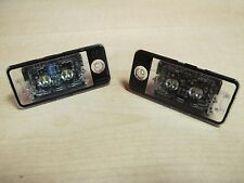 Originale Audi spie LED 1 Set Luci targa A3 A4 A6 A8 Q7