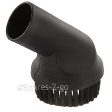 Round Dusting Brush Tool for Nilfisk Vacuum Cleaner 35mm Hoover Part Spare