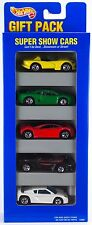 Hot Wheels Super Show Cars 5 Pack Gift Set w/Vector Avtec Green Jaguar 1996 C3