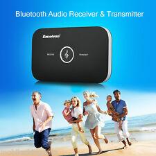 Bluetooth HIFI Adaptateur Sans fil 2-en-1 Audio Récepteur Transmetteur TV MP3 PC