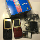 Brand New NOKIA C2-00 UNLOCKED MOBILE PHONE DUAL SIM Black and Red
