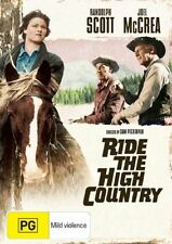 RIDE THE HIGH COUNTRY Randolph Scott DVD R4 - PAL - New