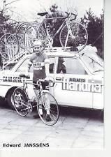 CYCLISME carte EDWARD JANSSENS  (equipe flandria ca va seul )  1979