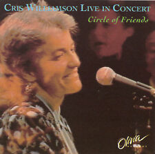 Live in Concert: Circle of Friends by Cris Williamson (Cassette, Sep-1993, Olivi