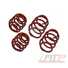 LOWERING SPRINGS KIT SET 40MM FRONT + REAR VW LUPO 6X 6E 1.0-1.7