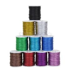 10 Color 0.5mm Metallic Cord Wire String DIY Jewelry Making Beading Thread