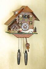 Kuckucksuhr, Original Schwarzwald, drehendes Mühlrad, Cuckoo Clock 425Q