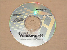 Microsoft Windows 98 Upgrade Disc