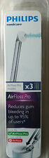 Philips Sonicare AirFloss Pro Interdental Nozzles - Pack of 3.  Brand New Sealed