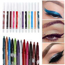 12PC Waterproof Eyeshadow Eyeliner Liquid Eye Liner Pen Pencil Makeup Tool Set