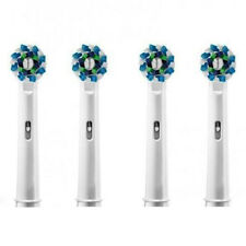 4X Electric Tooth brush Replacement Heads Fit For Braun Oral-B Cross Action